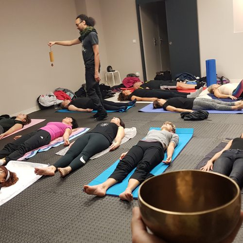 Cours collectif Yoga